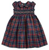 Laura Ashley Little Girl's Plaid Dress
