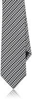 Lanvin Men's Houndstooth-Print Silk Necktie