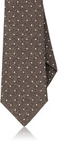 Isaia MEN'S DOT-PATTERN WOOL NECKTIE