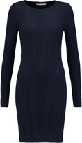 Autumn Cashmere Ribbed cashmere mini dress