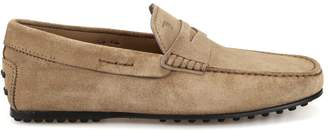 Tod's Classic Driving Suede Loafers