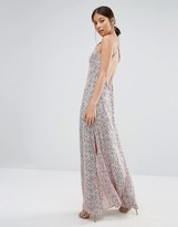 Goldie Elegance Maxi Dress In Willow Print