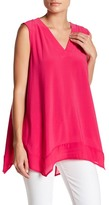 Chaus Sleeveless V-Neck Blouse