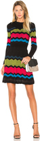 M Missoni Zig Zag Block Sweater Dress