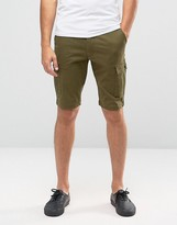 Jack and Jones Cargo Shorts in Skinny Fit