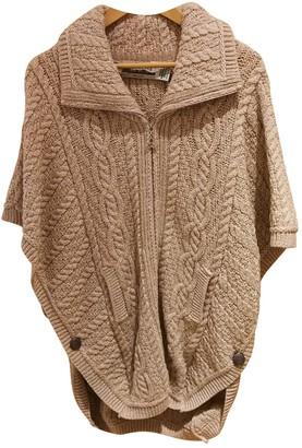 Aran Crafts Khaki Wool Knitwear for Women