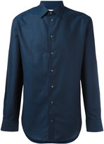 Armani Collezioni classic button shirt - men - Cotton - 38