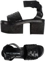 Ter Et Bantine Platform sandals