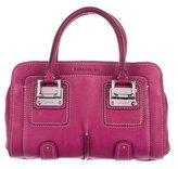 Barbara Bui Textured Leather Satchel