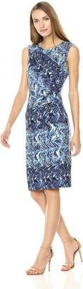 Nic+Zoe Women's Seaside Tile Dress