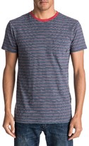 Quiksilver Men's Dumaran Stripe Pocket T-Shirt