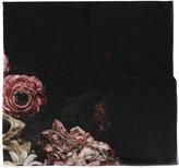 Christian Dior floral scarf