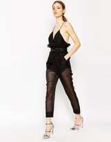 Alice McCall Jusitify My Love Jumpsuit in Black