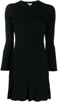 Kenzo Long-Sleeved Knit Dress