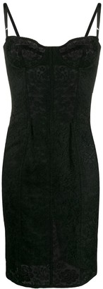 Dolce & Gabbana Pre Owned 1990s Lace Slip Dress