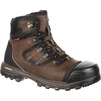 Rocky Men's XO-Toe Composite Waterproof Work Boot Ankle