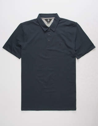 Volcom Wowzer Navy Mens Polo Shirt
