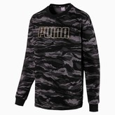 Camo Men's Fleece Crewneck Sweatshirt