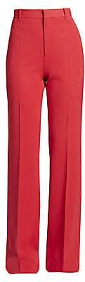Balenciaga Women's Wool-Blend Suit Pants