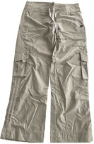 Nike Camel Cotton Trousers