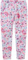 Osh Kosh Toddler Girl Floral Print Leggings