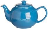 Typhoon Mason Cash Ceramic 37 Fl Oz. Blue Teapot & Infuser