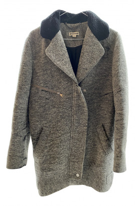 Whistles Grey Wool Coats