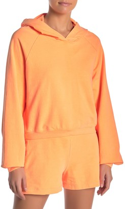 PST by Project Social T Neon Cropped Hoodie