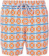 Capricode tile print swim shorts