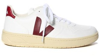 Veja V-10 Vegan Sneaker White Marsala