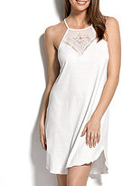 Hanky Panky 40th Anniversary Embroidered Cotton Chemise