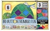 Melissa & Doug Big Button Number Fun Activity and Game Set