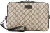 Gucci monogram clutch - men - Calf Leather - One Size