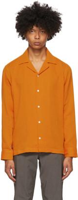 Saturdays NYC Orange Marco Shirt