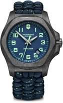 Victorinox Swiss Army I.N.O.X. Carbon Blue Dial & Paracord Bracelet Two-Strap Watch