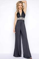 Cassandra Stone - V Neck Gown Style 77214A