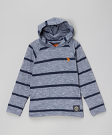 U.S. Polo Assn. Classic Navy Stripe Pullover Hoodie - Boys
