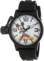 Thumbnail for your product : EWatchFactory Disney Men's W000592 Mickey Mouse Crown Protector Watch