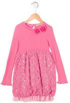 Blumarine Girls' Embellished Knit Dress