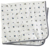 Ralph Lauren Infant Boys' Layette Reversible Printed Receiving Blanket - Sizes 3-9 Months