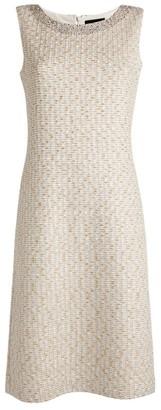 St. John Knitted Sequin Dress