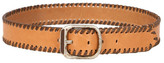 Streets Ahead Stitched Belt In Camel