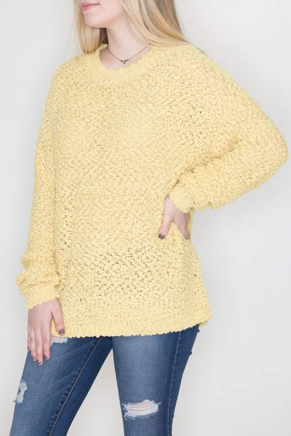 Cherish Sunshine Fluff Sweater
