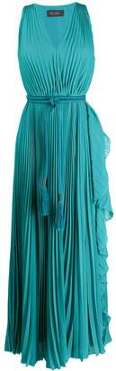 Max Mara empire line maxi dress