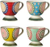 OKA Florya Mugs, Set of 4 - Multi