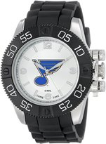 Game Time Men's NHL-BEA-STL Beast St. Louis Blues Round Analog Watch