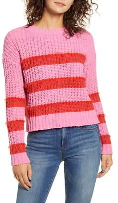 Love by Design Stripe Chenille Sweater