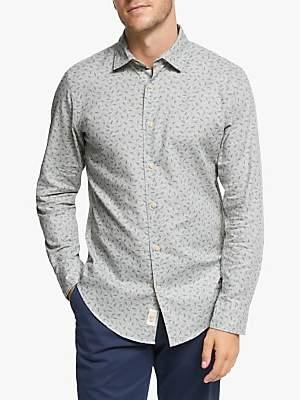 John Lewis & Partners Beechwood Print Regular Fit Shirt