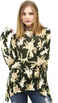 Show Me Your Mumu Bonfire Sweater in Forest Florist