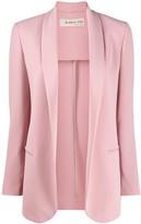 Blanca Vita loose-fit open-front blazer
